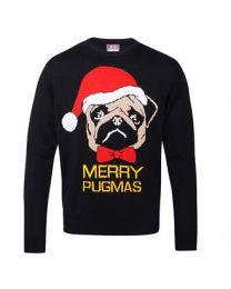 Kersttrui Merry Pugmas, volwassenen.