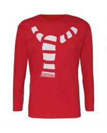 Kerst T-shirt Sjaal Heren