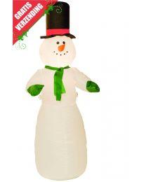 Kerst Accessoires, opblaasbare sneeuwpop