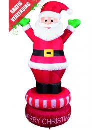 Kerst Accessoires, opblaasbare kerstman.