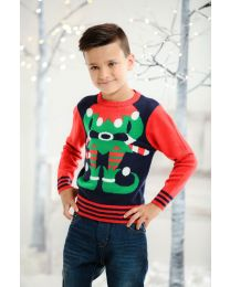 Kersttrui kinderen, elf