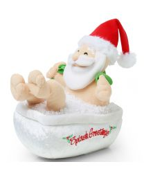 Kerst Accessoires Badende Kerstman