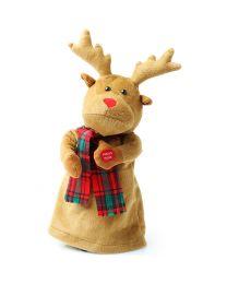 Kerst Accessoires Dansende Rudolph