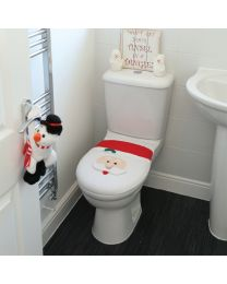 Kerst Accessoires Toiletzitting Cover