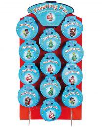 Kerst Accessoires, knipperende kerstballen.