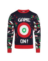 "Kersttrui ""Game On!"" Heren"