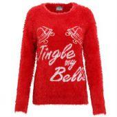 Kersttrui 3D Jingle My Bells Dames